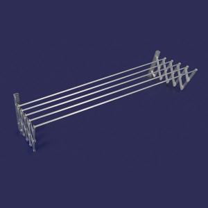 Tendedero de aluminio de 120 cm